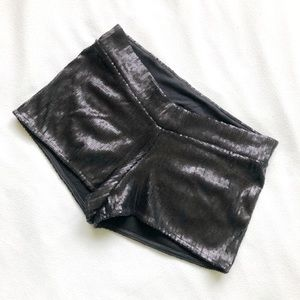 Pants - Sequin shorts